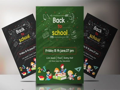 Back to School Party Flyer ms word school party photoshop template event flyer back to school party back to bash back to school flyer printable party school invitation back to school printable invitation party invitation
