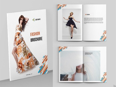 Fashion Photography Magazine template