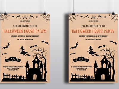 Halloween Party Flyer ms word template halloween invitations party invitation night party halloween flyer halloween invite diy halloween halloween printables halloween invitaiton halloween party