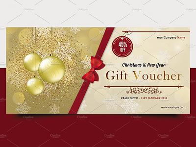 Gift Voucher Template from cdn.dribbble.com
