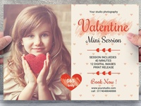 Valentines Day Mini Session Flyer