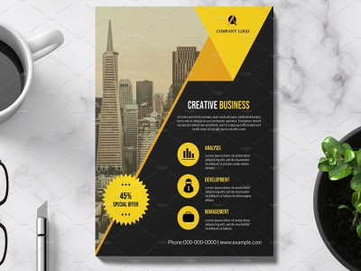 Business Flyer Template company marketing presentation multipurpose clean agency advertisement minimal flyer professional flyer simplate flyer business flyer template corporate flyer template corporate flyer business flyer