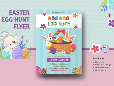 Easter Egg Hunt Invitation Template ms word easter invitation family event egg hunt invite easter party easter invite invitation template egg hunt schedule hunt schedule easter flyer easter party flyer