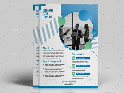 Clean Business Flyer clean presentation creative multipurpose advertising advertisement minimal flyer professional flyer business flyer template coporate flyer template corporate flyer business flyer