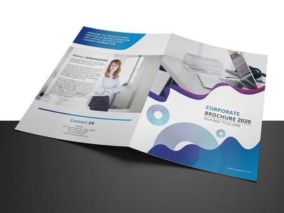 Business Brochure Template brochure template creative brochure bifold brochure illustrator template digital template minimal multipurpose design template printable company brochure business brochure corporate brochure