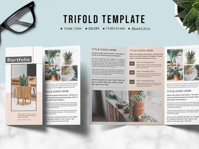 Multipurpose Trifold Brochure Template