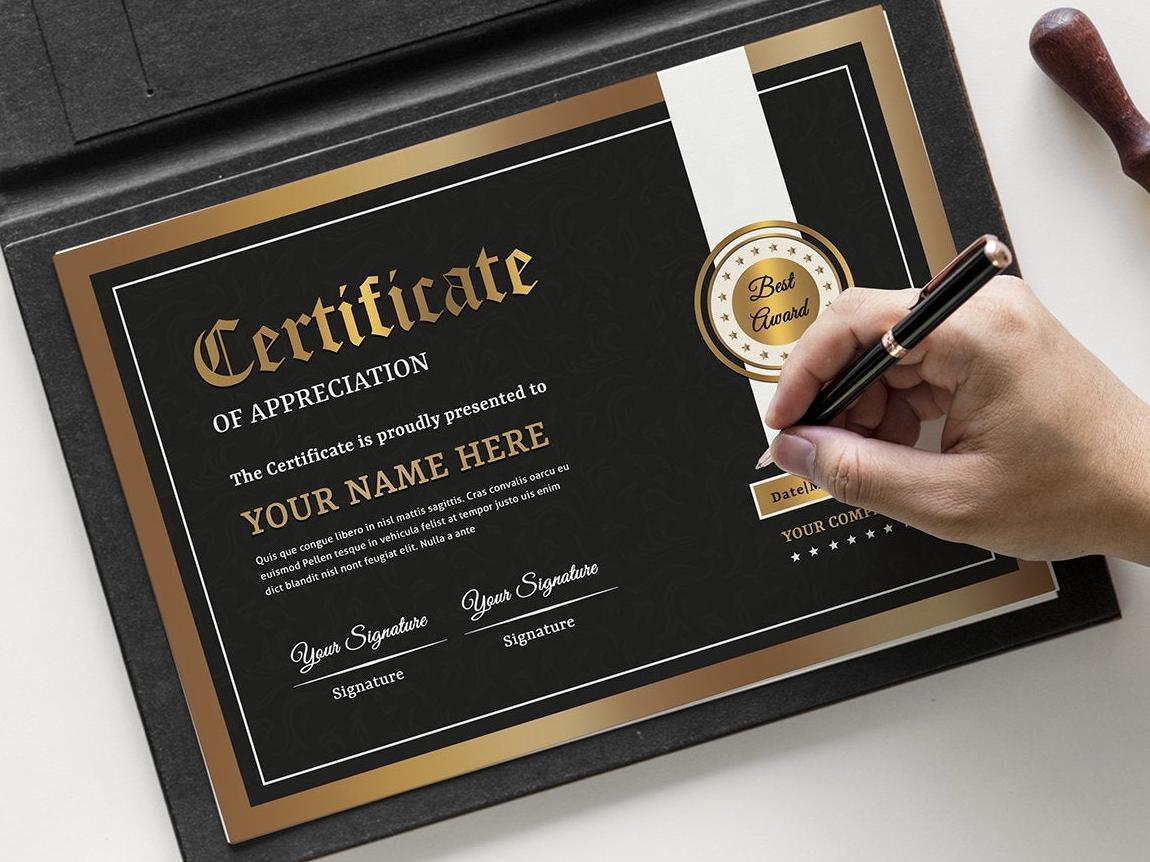 Certificate Template creative printable award modern cerificate corporate certificate multipurpose certificate template graduation elegant diploma collage certificate certificate design