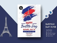 Bastille Day Flyer Template