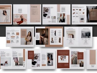 Media Kit Brochure Template