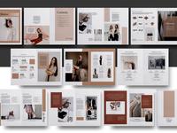 Media Kit Brochure Template