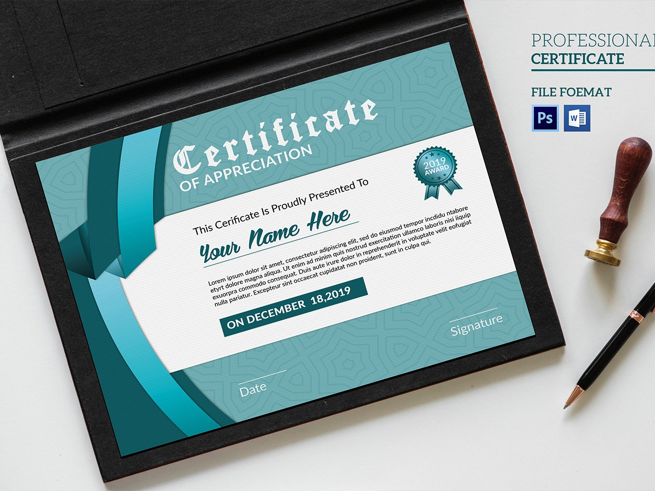 Certificate Template graduation elegant diploma collage certificate certificate design creative printable award appreciation modern certificate corporate certificate multipurpose certificate template