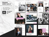 Instagram Promotional Banner Template