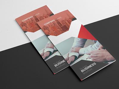Business Brochure Template clean template trifold brochure design minimal illustrator template creative printable company brochure business brochure corporate brochure