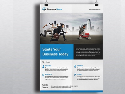 Clean Corporate Flyer Template photoshop template ms word clean editable flyer design company flyer psd flyer flyer template printable flyer advertising business flyer corporate flyer