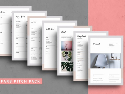 Proposal Pitch Pack Template
