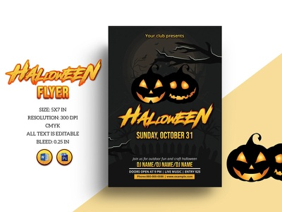 Halloween Party Flyer Template ms word photoshop template club happy halloween diy halloween party invitation halloween invite party flyer halloween flyer halloween invitation halloween party flyer