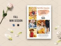 Fall / Autumn mini session