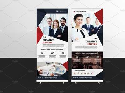 Business Roll-Up corporate business banner template rollup template presentation marketing advertising illustrator template banner corporate rollup business rollup roll-up. rollup