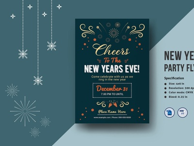 new year flyer designs themes templates and downloadable graphic elements on dribbble new year flyer designs themes