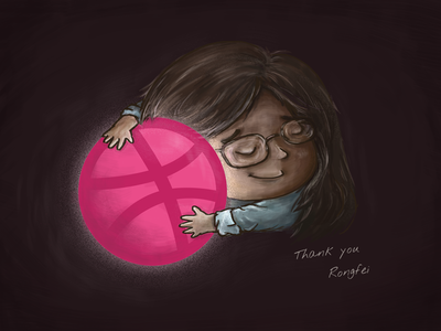 Hello dribbble! first shot wacom digital painting