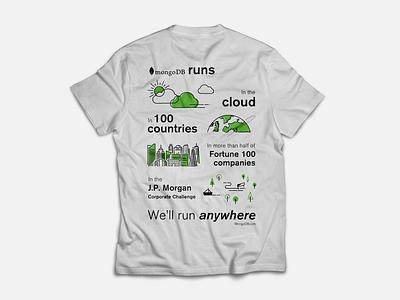 J.P. Morgan Corporate Challenge 2017 Race Shirt t-shirts