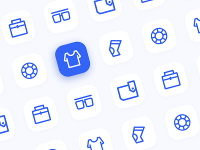 Functional icons ui icon design