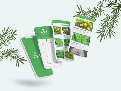 Plant Care App app design user interface gardening mobile app plant design plant shop planting eco green flower app plant app