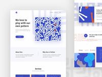 Pattern Agency Landing Page