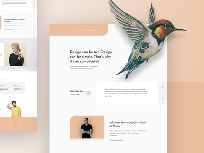 Uno Agency Landing Page