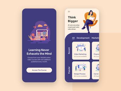 Course App UI Design