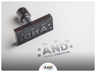 And Creative - Rubber Stamp