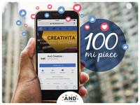 100 like on Facebook