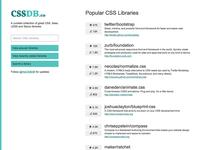 CSSDB 1.0