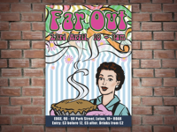 Far Out Flyer and Poster