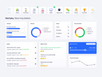 Analytics Dashboard monitoring dashboard ui  ux 2020 clean web ux ui