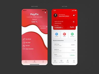 Digital Wallet UX case app ui bank wallet ux