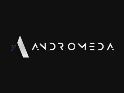 Andromeda | Aerospace Logo Design space logo andromeda aerospace