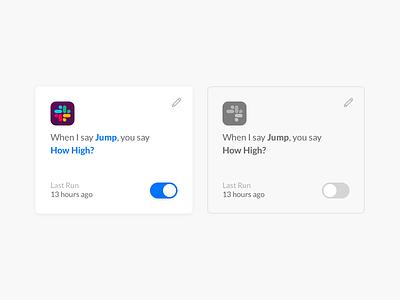 Botlet Cards firebase vue.js automation input app ui