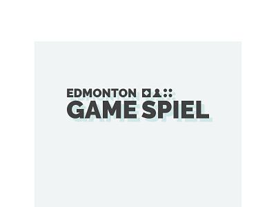 Edmonton Game Spiel Logo vector typography logo branding design