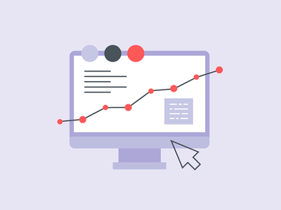 Growth driven design marketing growth driven design blog media junction red purple illustration