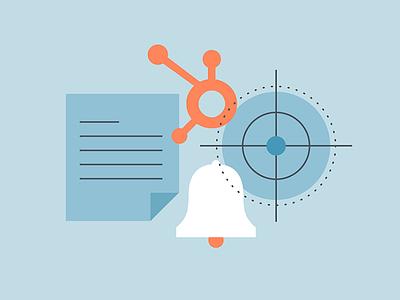 How to Use HubSpot media junction orange blue hubspot icon illustration blog