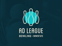 Ad League Bowling logo submission