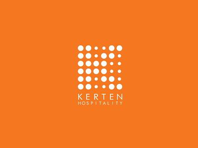 Kerten Hospitality Logo Design illustration logotype logomark logo logo design visual identity branding brand identity