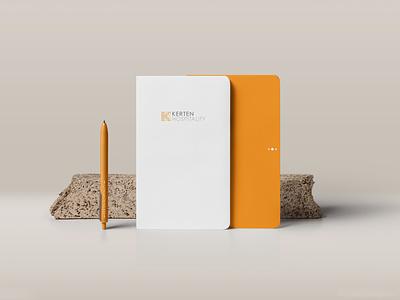 Kerten Hospitality Stationary Design stationary design stationary illustration visual identity branding brand identity