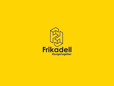 Frikadell Gourmet Burger Logo Design logo mark branding brand identity visual identity logo logotype logo design