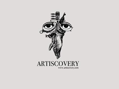 Artiscovery Logo design illustration branding brand identity visual identity logotype logo mark logo inspiration logo design logo