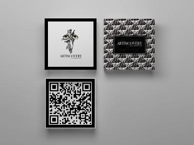 Artiscovery Branding identity design qr code logo inspiration mockup illustration design inspiration graphic design logo design logo branding brand identity visual identity