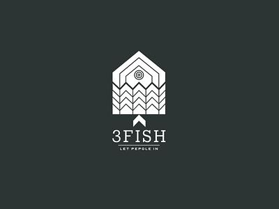 3fish Logo Design design inspiration branding illustration brand identity visual identity logo inspiration logomark logotype logo design logo