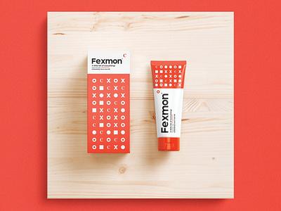 Fexmon Skincare Branding design inspiration pattern design packaging inspiration packaging mockup packaging logo logo design visual identity brand identity
