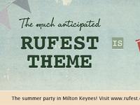 Rufest facebook timeline banner